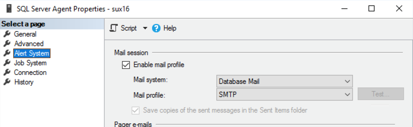 Posting SQL Server notifications to Slack – Alessandro